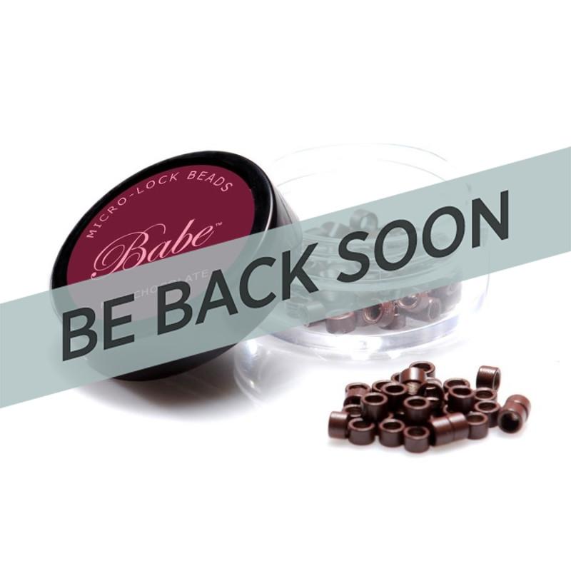 Babe Microlock Beads Milk Chocolate (100
