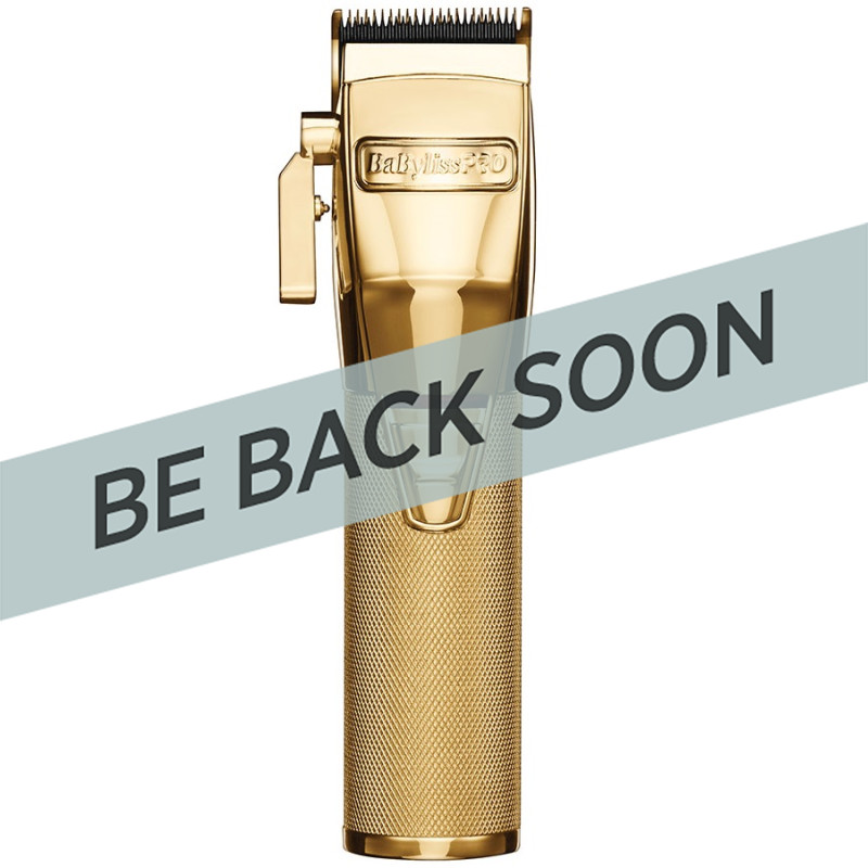 BabylissPro FX870G GOLDFX Metal Lithium Clipper