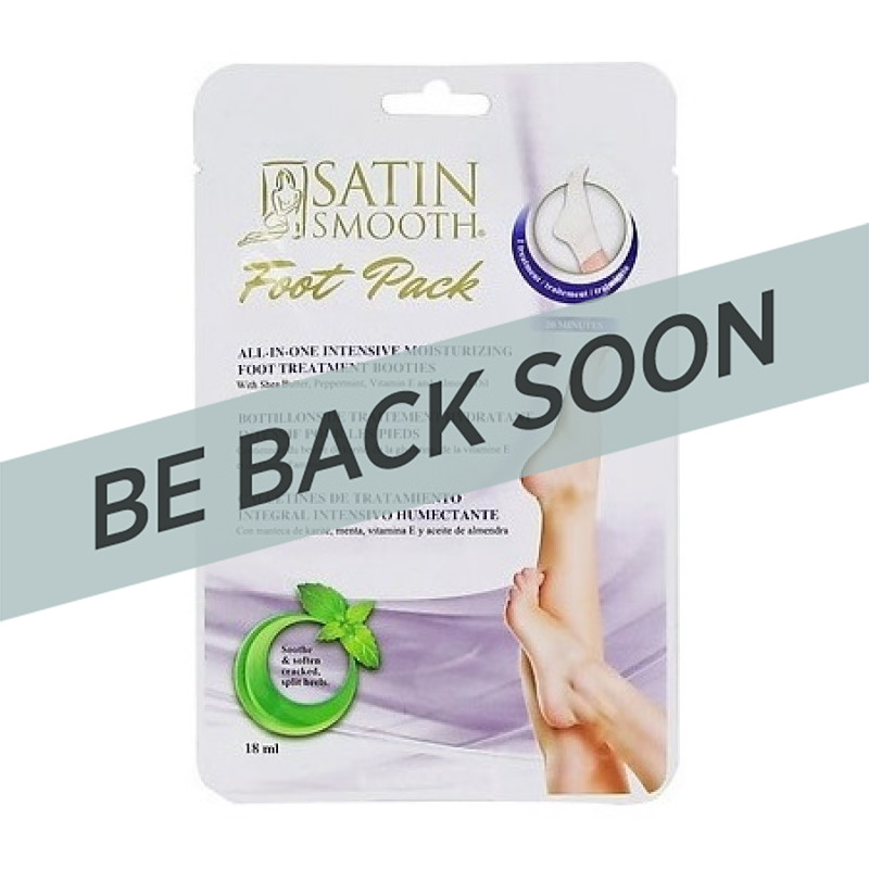 Satin Smooth SSFTPK1 Foot Pack Each