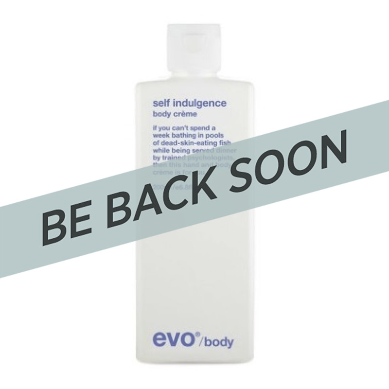Evo Self Indulgence Body Creme 200ml +