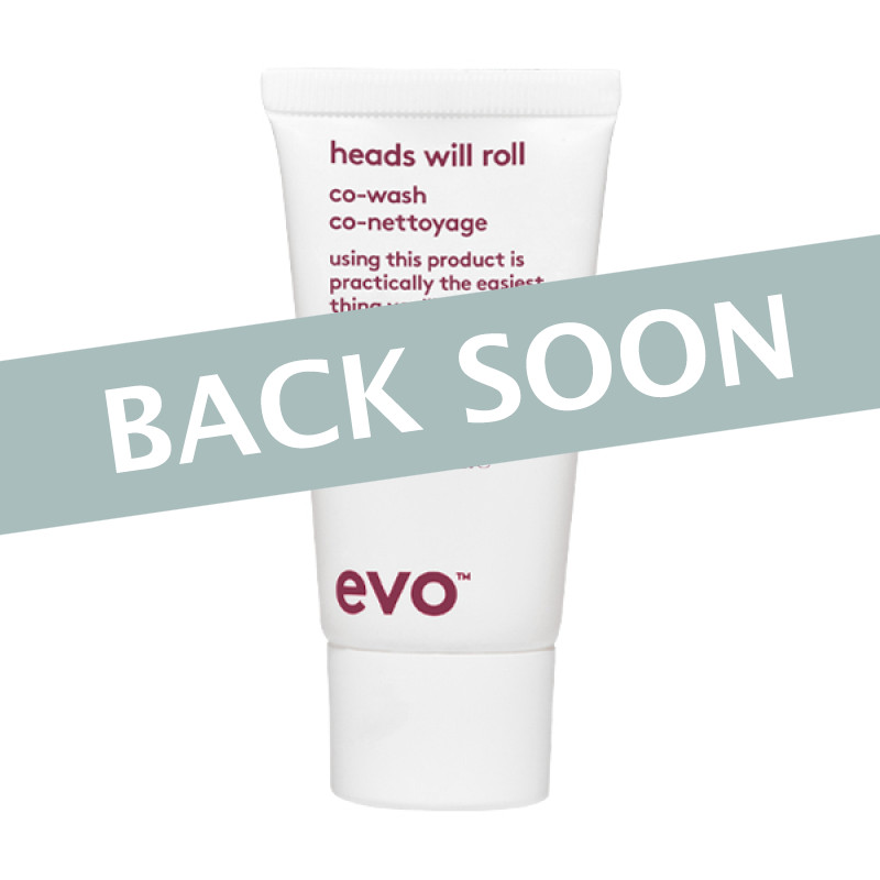Evo Heads Will Roll Cleansing Conditioner 30ml