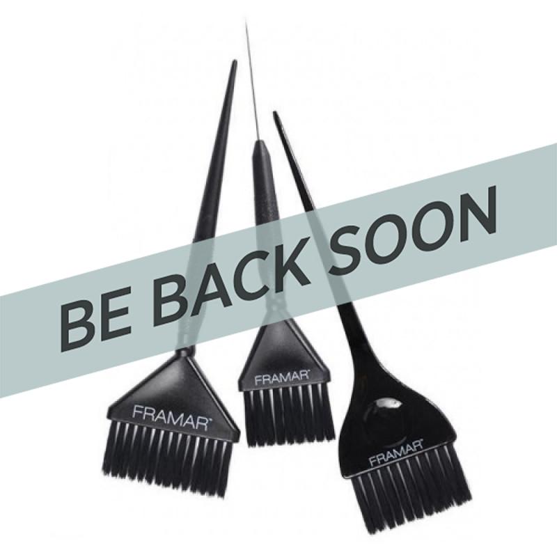 Framar HB-FP-BLK Family Pack Black Brush