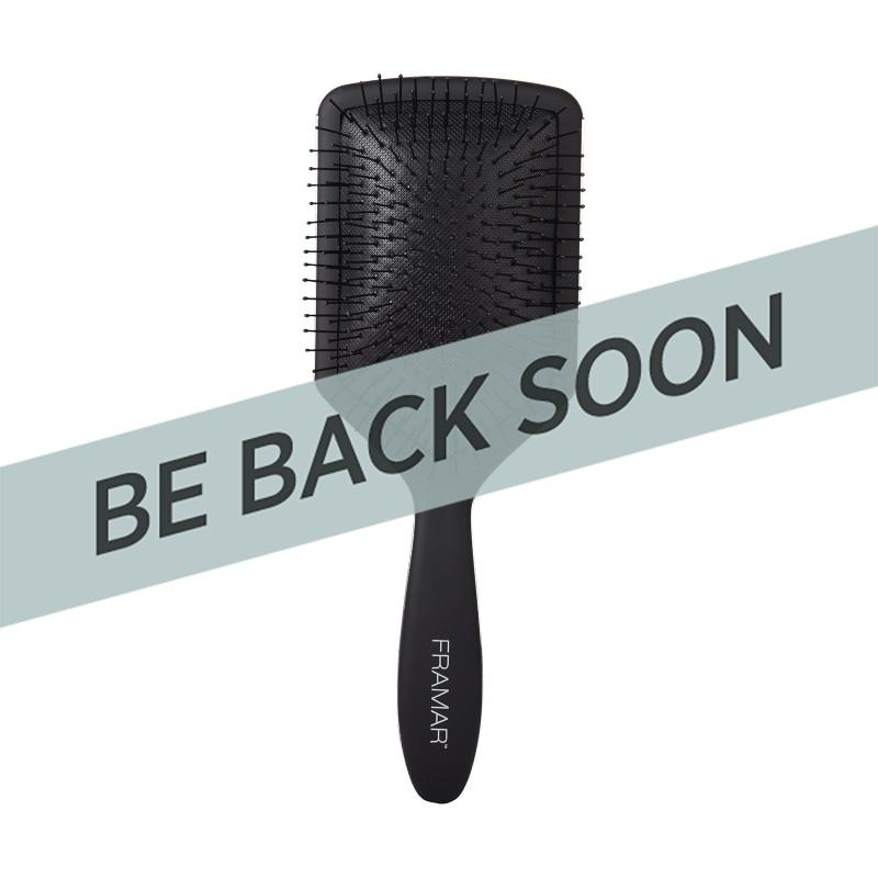 Framar FB-PB-BLK Paddle Brush Black to the Future