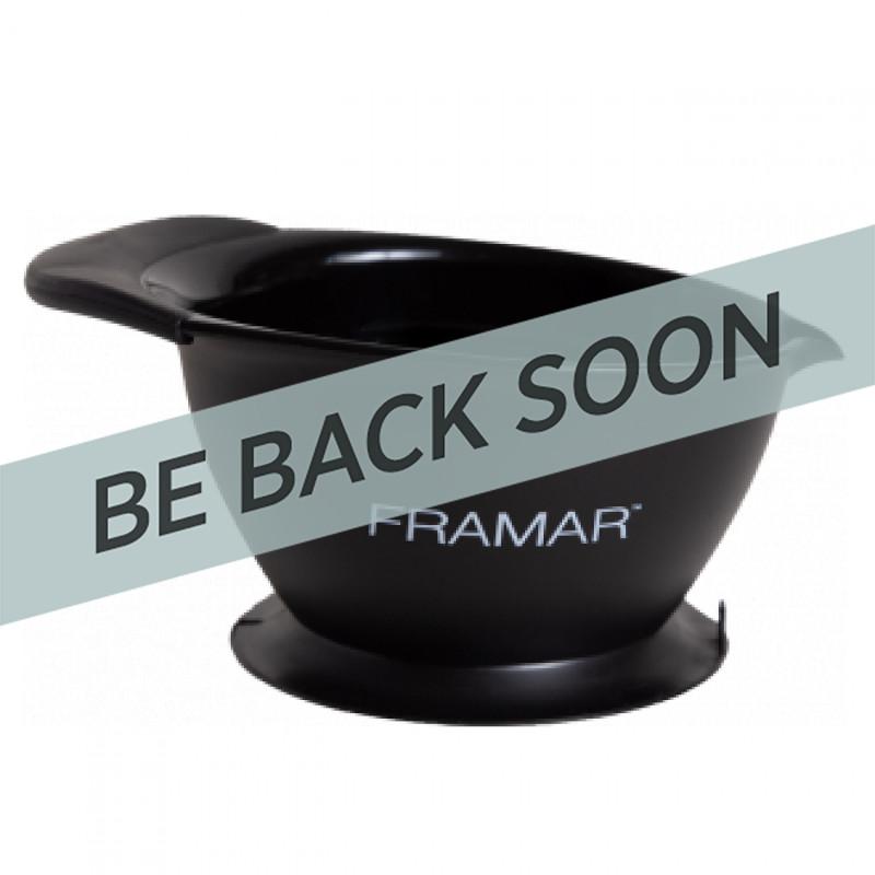 Framar CB-SG-BLK Coloring Bowl Black CBPB-BLK