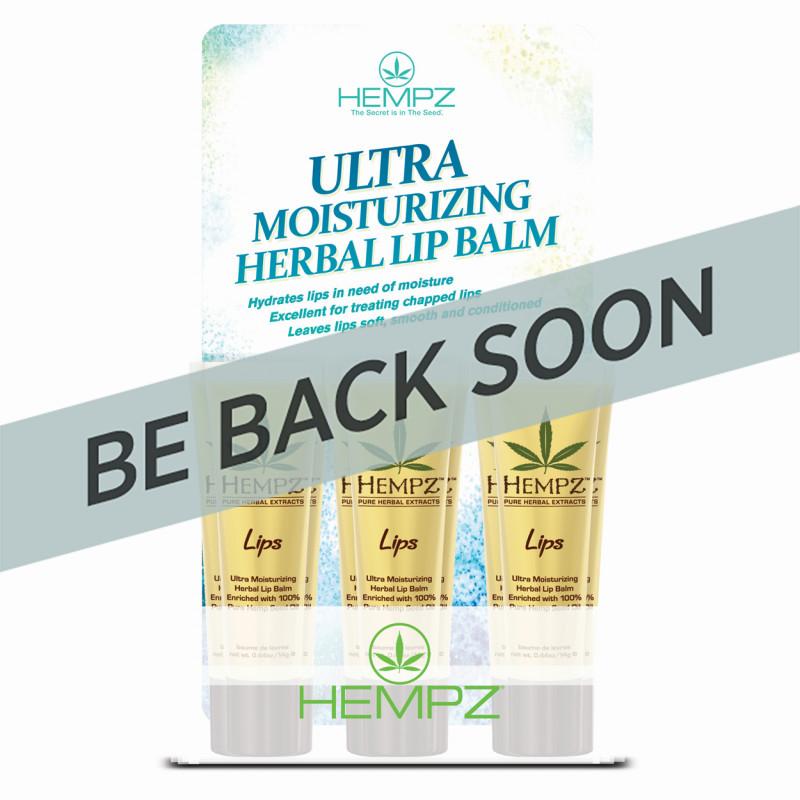 Hempz Herbal Lip Balm 12p..