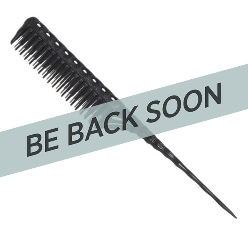 YS Park YS-150 Carbon Tail Comb Black