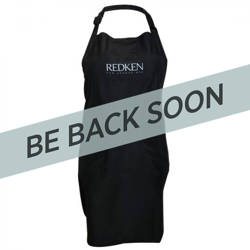 Redken RK Durasilk All-Purpose Apron Bla