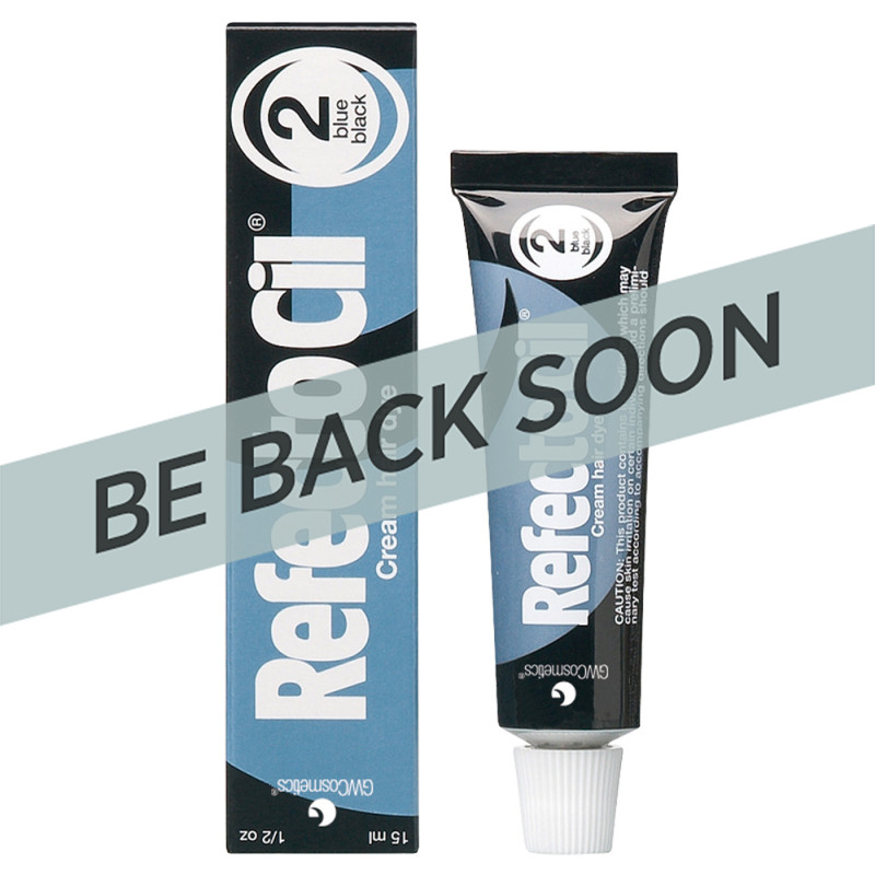 RefectoCil Tint Blue Black #2 15ml RC572