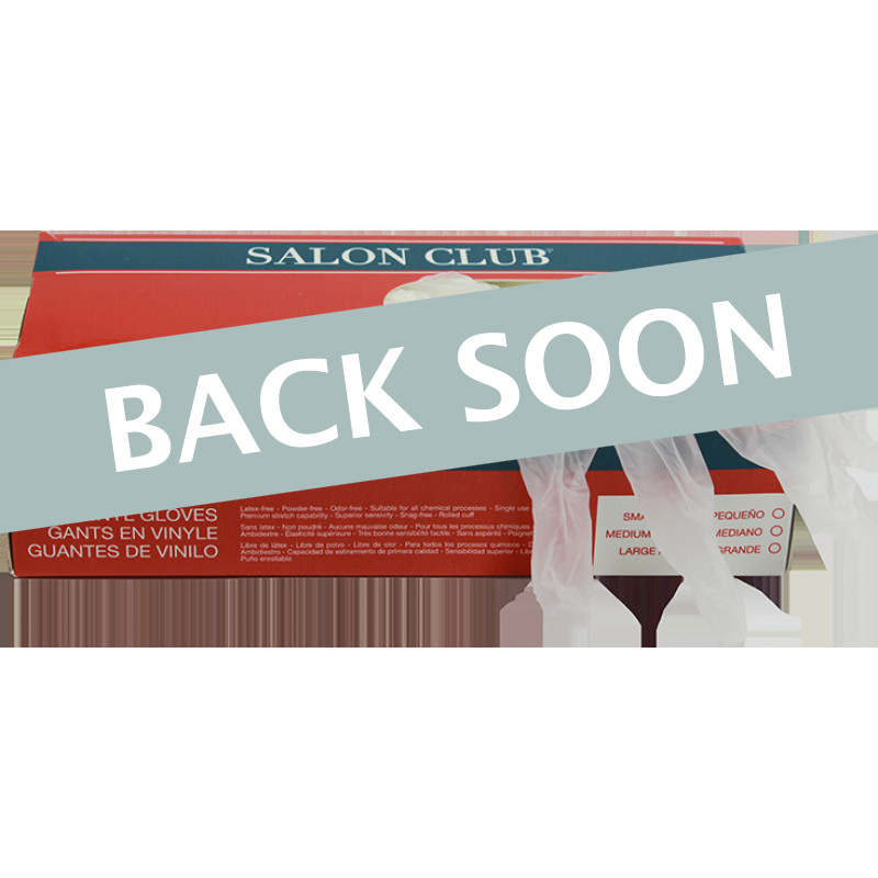 Salon Club SCLG-M Vinyl Gloves Medium (100)
