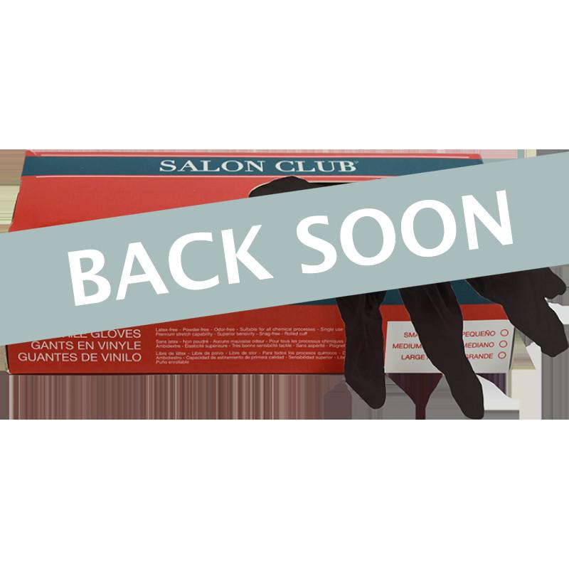 Salon Club SCNG-L Black Nitrile Gloves Large (100)