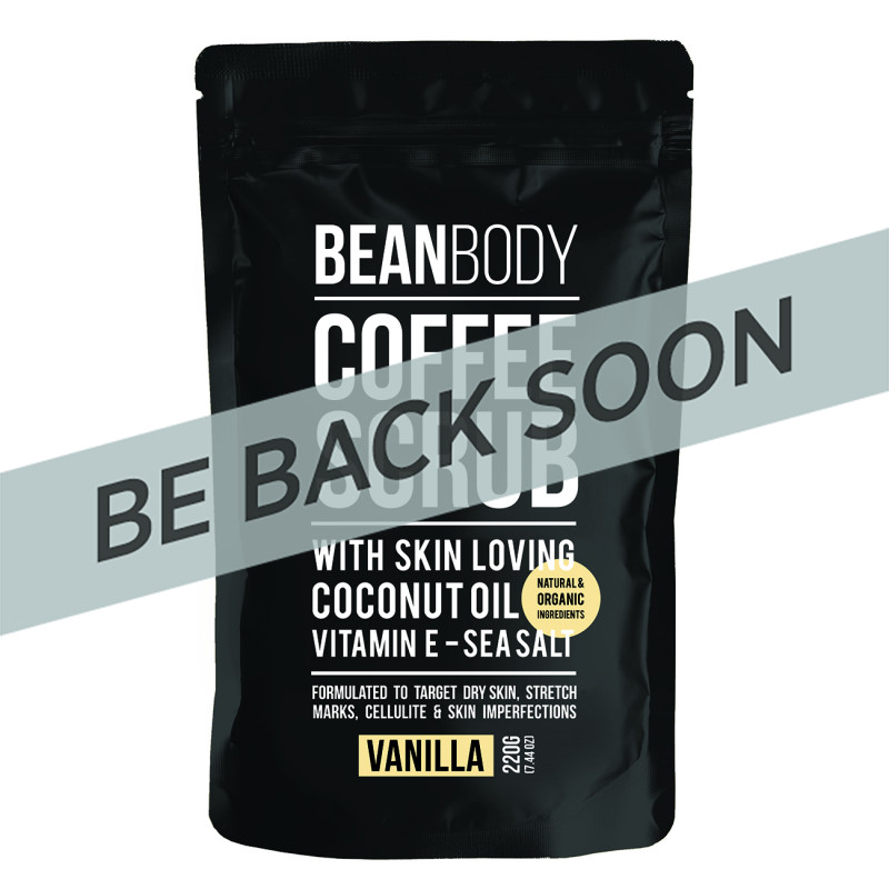 Bean Body Vanilla Coffee Scrub