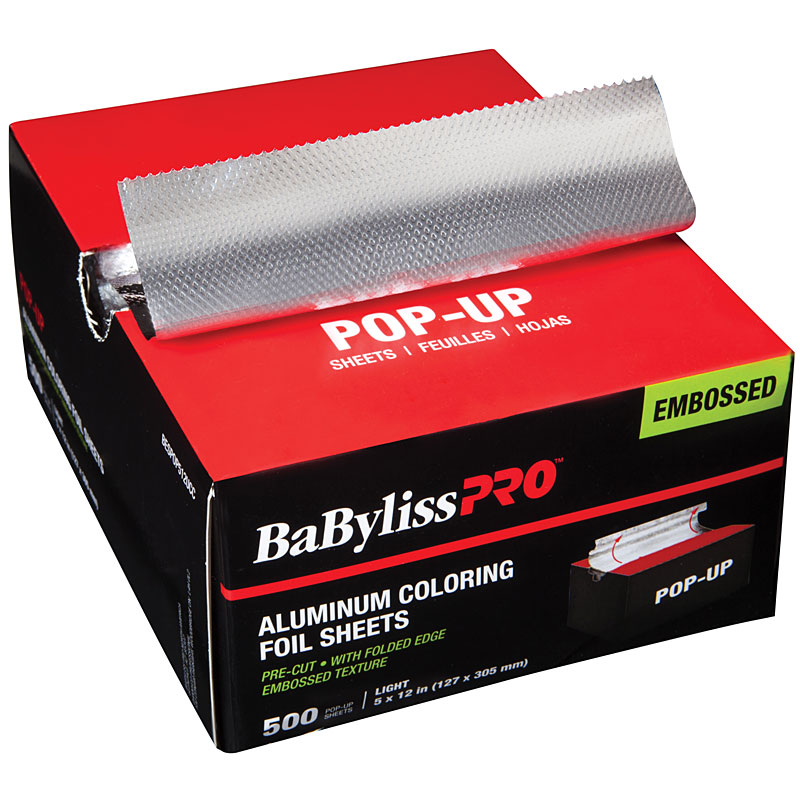 ^BESPOP512UCC Rough Light Silver Long Pop-Up Foil