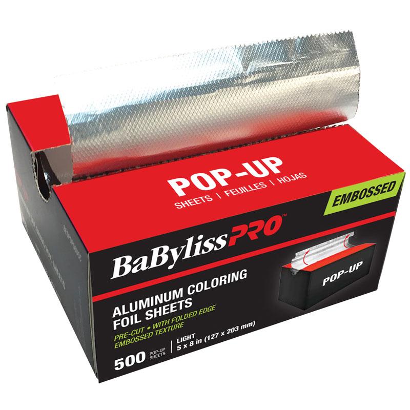 BESPOP58UCC Rough Light Silver Short Pop-Up Foil