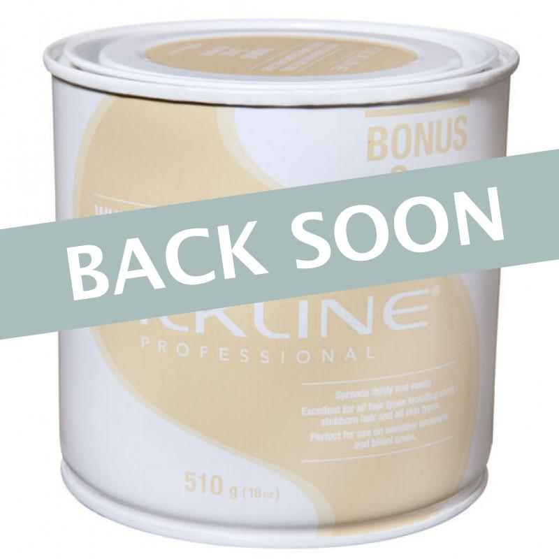 Silkline SL18CREMC White Cream Wax 18oz