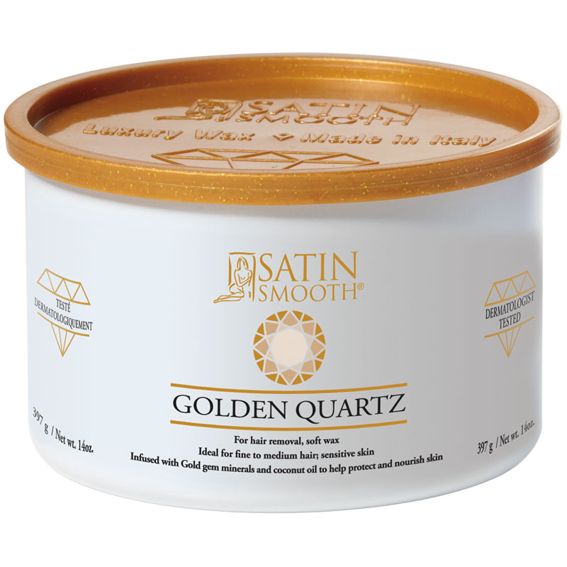 SSW14GD Golden Quartz Soft Cream Wax 14o