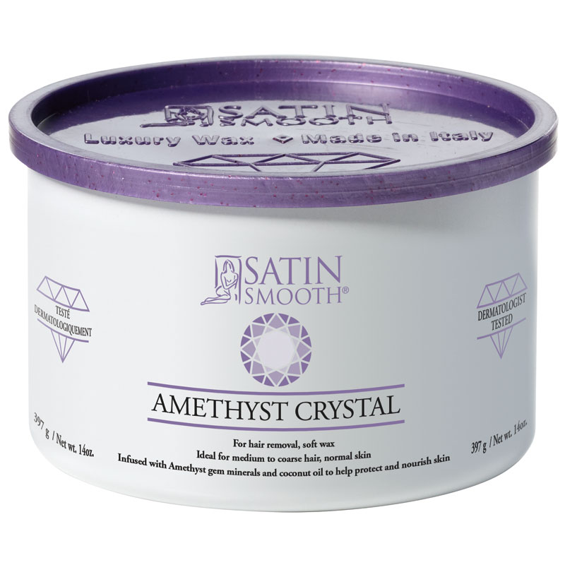 SSW14AC Amethyst Crystal Soft Cream Wax