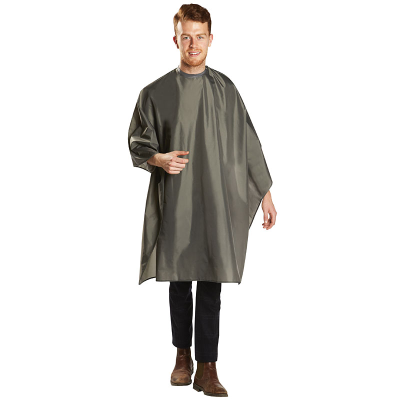 BES360SNGUCC Deluxe Waterproof Cutting Cape Grey