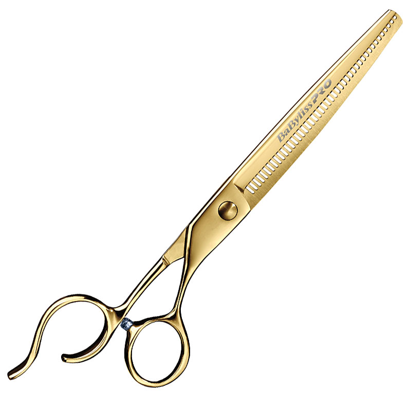 BabylissPro FXGBT7 Gold Titanium 7.0 OS Thinners