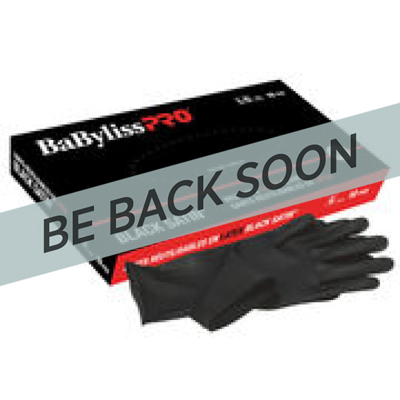 BES33710MDUCC Black Latex Gloves Medium (10)