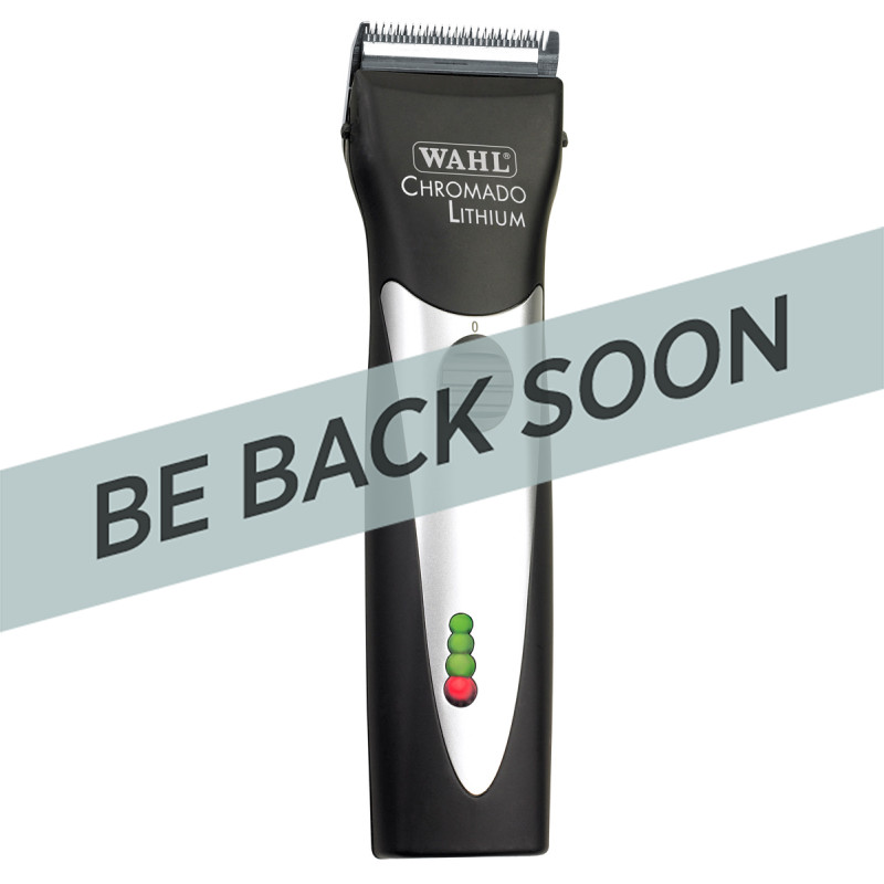 Wahl Chromado Lithium Cordless Clipper Black 56337