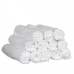 White Bleachproof Salon Towels (12)