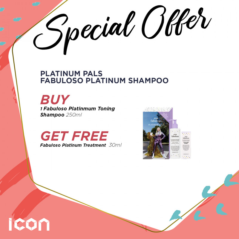 Fabuloso Platinum Pals Toning Shampoo Op