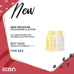 Design.Me Bounce.Me Shampoo Conditioner Launch K