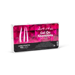 Artistic Gel On Xtensions Long Stiletto (550) NEW