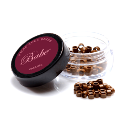 Babe Microlock Beads Caramel (100)