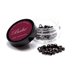 Babe Microlock Beads Dark Chocolate (100)
