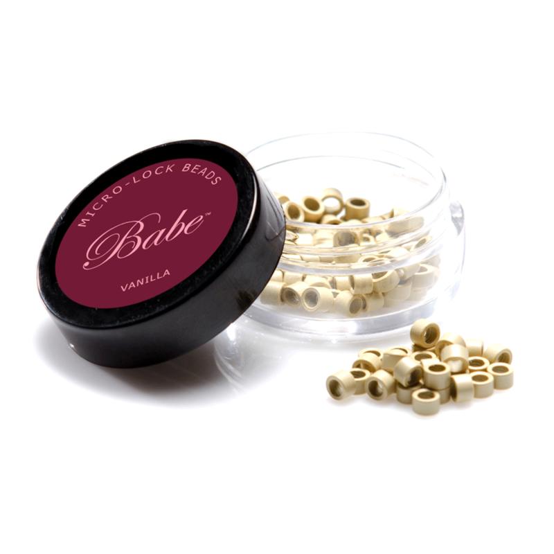 Babe Microlock Beads Vanilla (100)