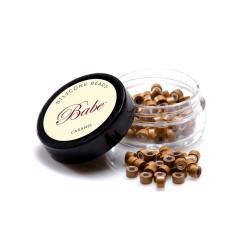 Babe Silicone Beads Caramel (100)