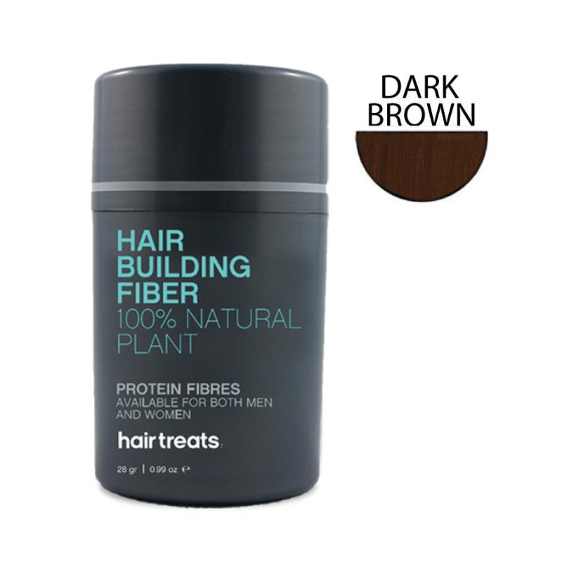 Hair Treats Fiber Dark Br..