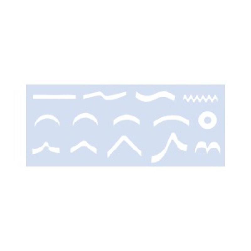 DL Pro DL-C293 Nail Art Tip Guides