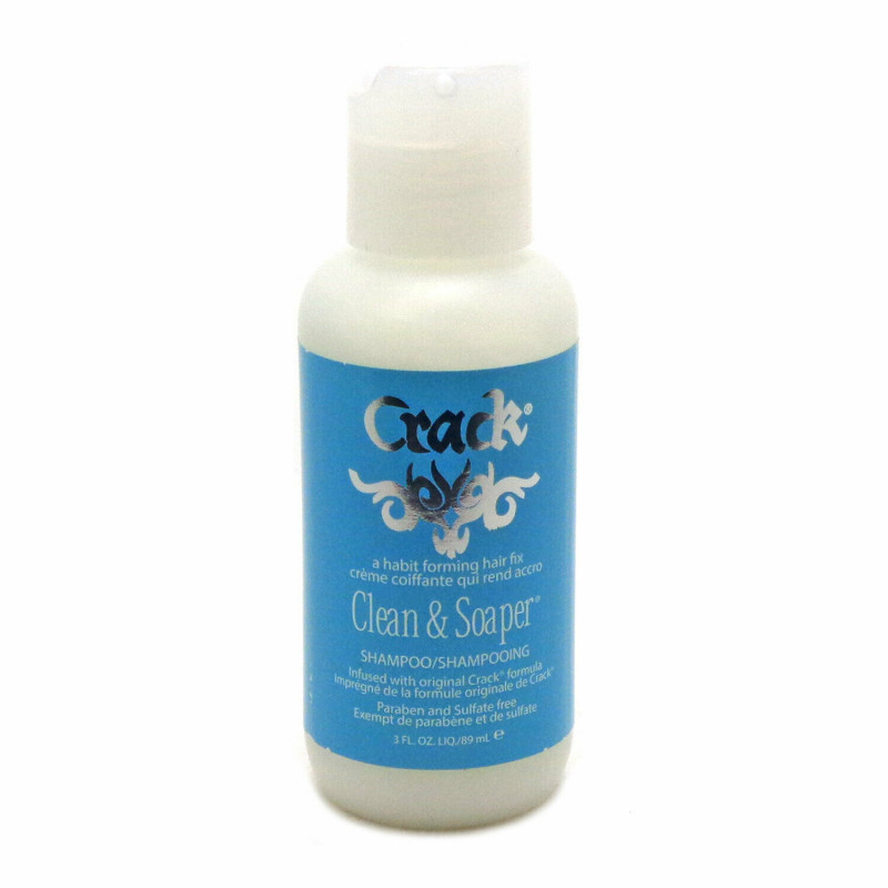 Crack Clean & Soaper Shampoo 3oz PRL-020