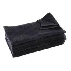 BESTOWELNBKUCC Black Cotton Towels (12)