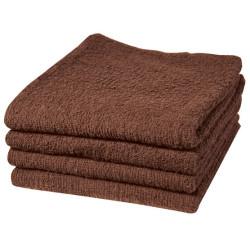 BESTOWELCBRUCC Brown Bleachproof Towels (12)