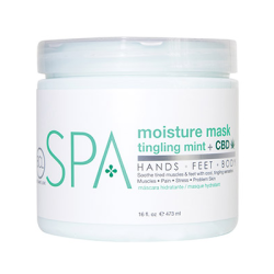 BCL SPA56110 Mint + CBD Moisture Mask 16oz