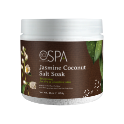 BCL SPA59116 Jasmine Coconut Salt Soak 16oz