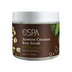 BCL SPA59114 Jasmine Coconut Rice Scrub 16oz