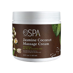 BCL SPA59118 Jasmine Coconut Massage Cream 16oz