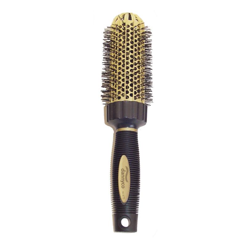 Dannyco 673C Gold Round Brush XL