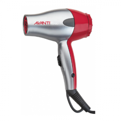 Avanti A-TURBO-TRAVC Travel Dryer Silver/Red *