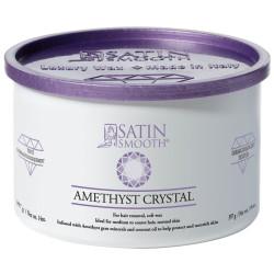 SSW14AC Amethyst Crystal Soft Cream Wax 14oz