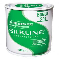 Silkline SL18TREEC Tea Tree Cream Wax 18oz