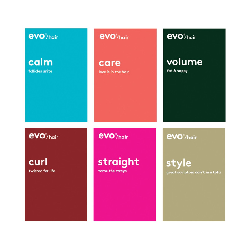 Evo Hair Acrylic Block Set (9) 39401