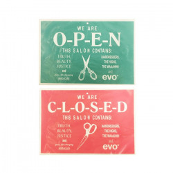 Evo Open/Closed Sign