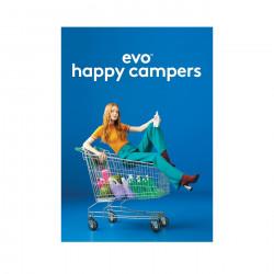 Evo Happy Campers Display Card