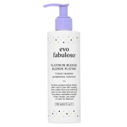 Fabuloso Platinum Blonde Toning Shampoo 250ml NEW