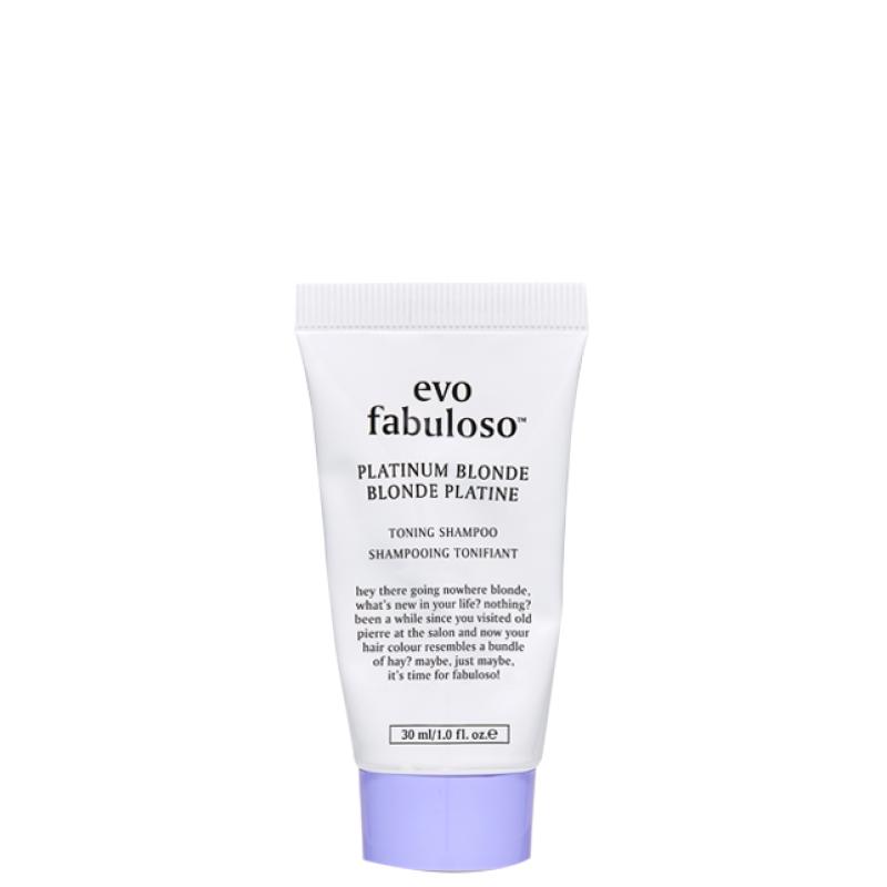 Fabuloso Platinum Blonde Toning Shampoo